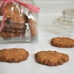 עוגיות טחינה וקוקוס