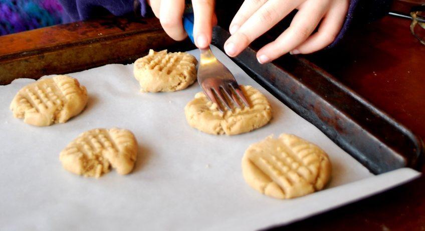 עוגיות טחינה מקמח מלא