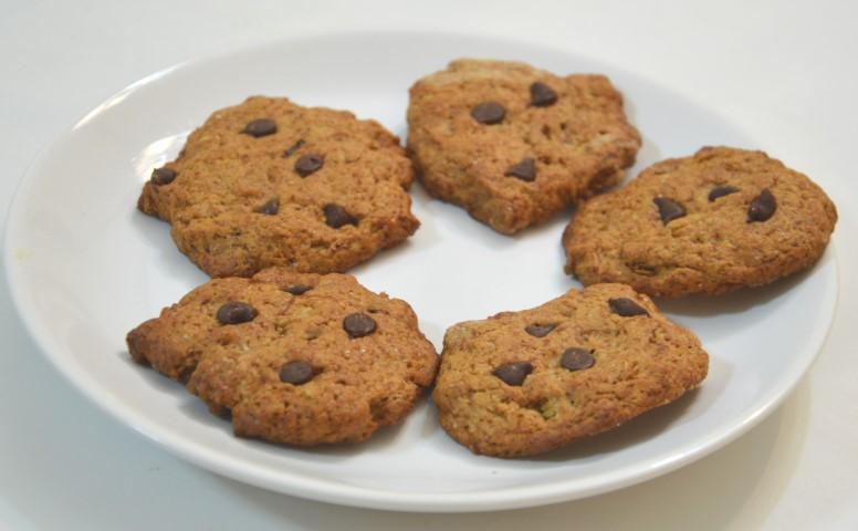 עוגיות בננה בריאות